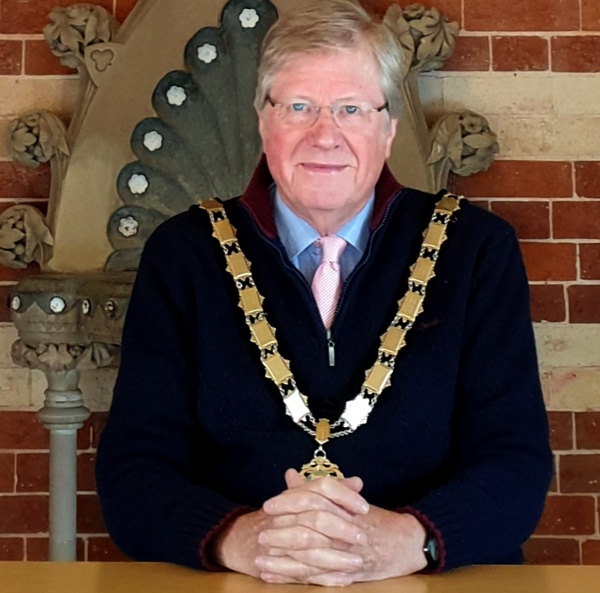 The Mayor of Tenbury - Cllr Eric Hudson